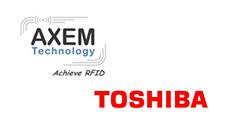 partenariat Axem Technology et Toshiba