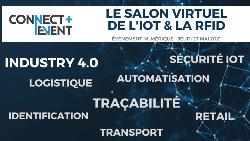 Le salon virtuel de l'IoT et de la RFID, le 27 mai 2021
